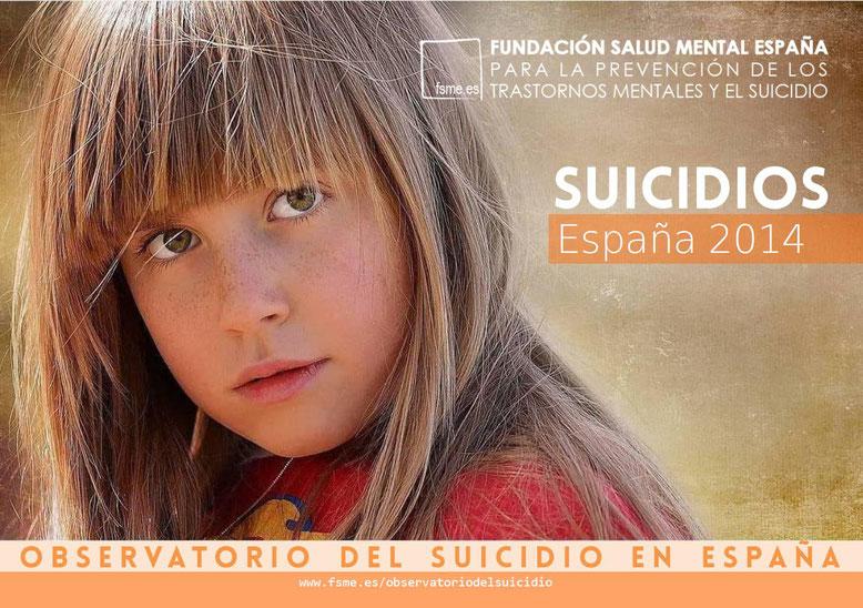 España. Suicidios 2014.