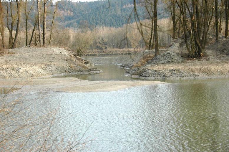 verbesserte Anbindung an die Donau, Bild vom 8.02.2008
