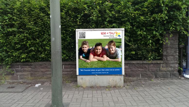Drei Freunde Werben