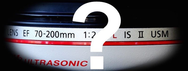 Canon acronym naming and lens abbreviation meaning