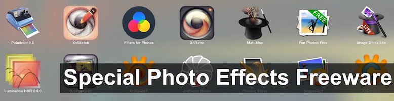 Photo effects freeware and preset to download for free