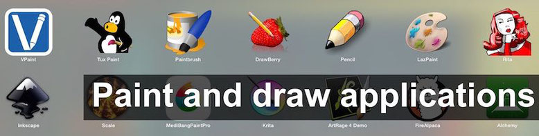 Free paint and drawing applications to download