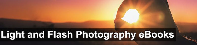 Light and flash photography ebooks cover
