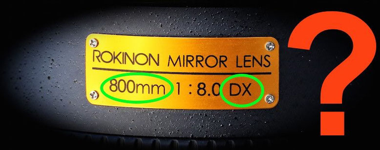 Rokinon and Samyang lens marked abbreviation