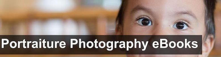 Cover of the free ebook portraiture photography