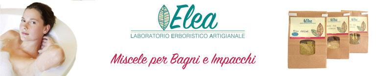 Miscele erboristiche naturali per bagni e impacchi - Laboratorio Erboristico ELEA