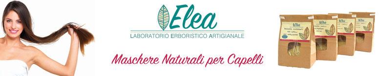Maschere naturali per capelli - Laboratorio Erboristico ELEA