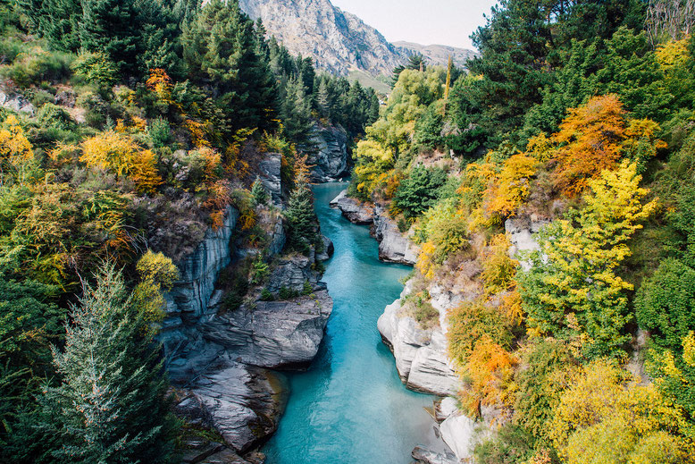 Best photography spots in Queenstown: Shotover Canyon