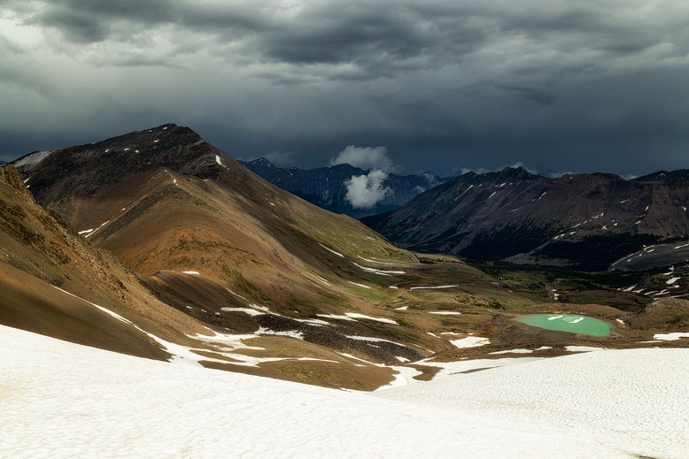 The View after The Notch - Information on the Skyline Trail in Jasper National Park