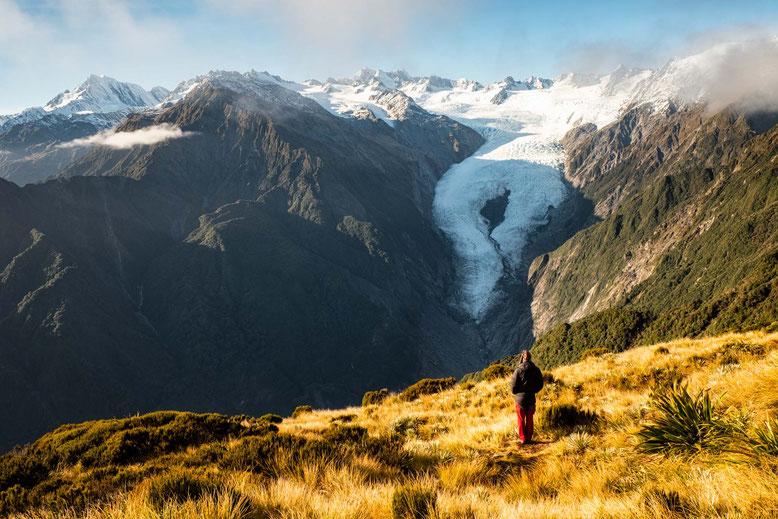 Waterfall in Taranaki/Mt Egmont National Park, New Zealand