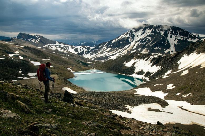 Skyline trail. Best hikes in Jasper NP