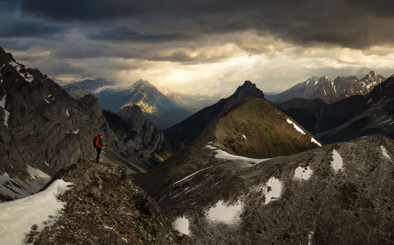 Pocaterra Ridge hike in Kananaskis Country