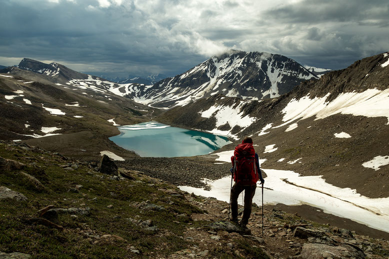 Curator Lake - A backpacking guide to the Skyline Trail in Jasper National Park