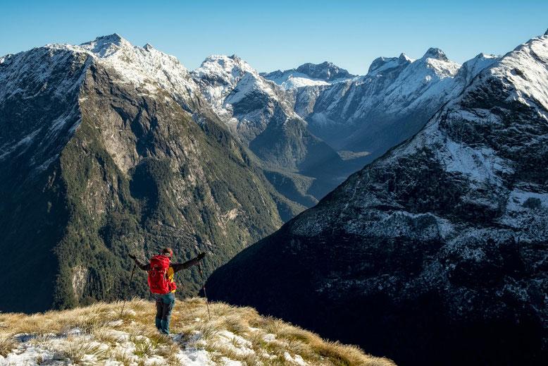 Mount Robert ridgeline, Nelson Lakes NP, New Zealand