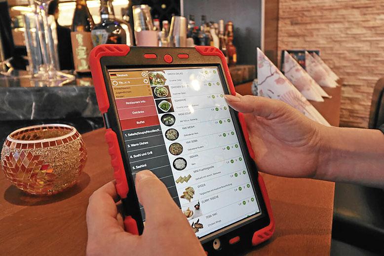 Essen mit dem iPad bestellen
