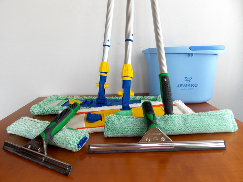JEMAKO Reinigungsgeräte für's Gewerbe