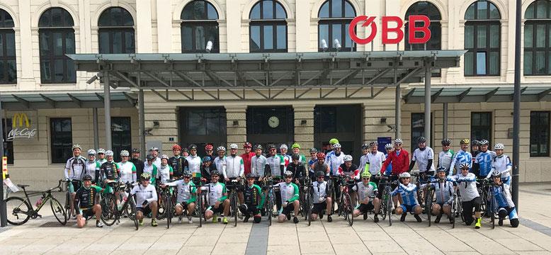 Dynamo Bortshausen 25 Pässe Radtour
