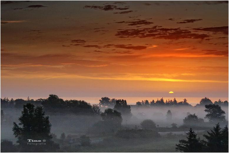 Sonnenuntergang in Kalifornien Ostsee