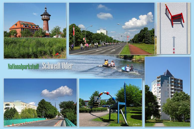 Ansichtskarte Schwedt/Oder (privat)