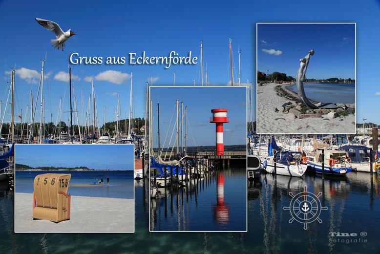 Ansichtskarte Eckernförde (privat)