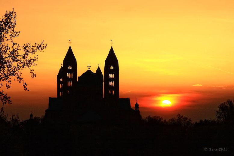Der Dom zu Speyer (Sonnenuntergang)