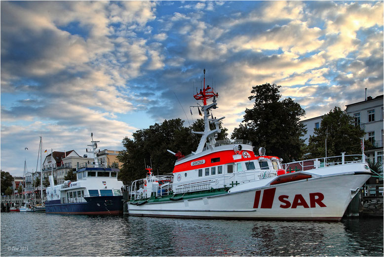SAR in Warnemünde