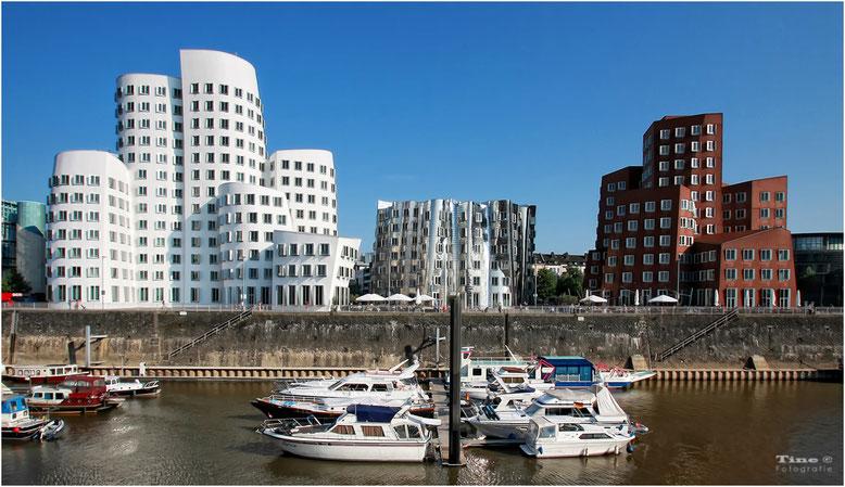 Gehry Häuser in Düsseldorf