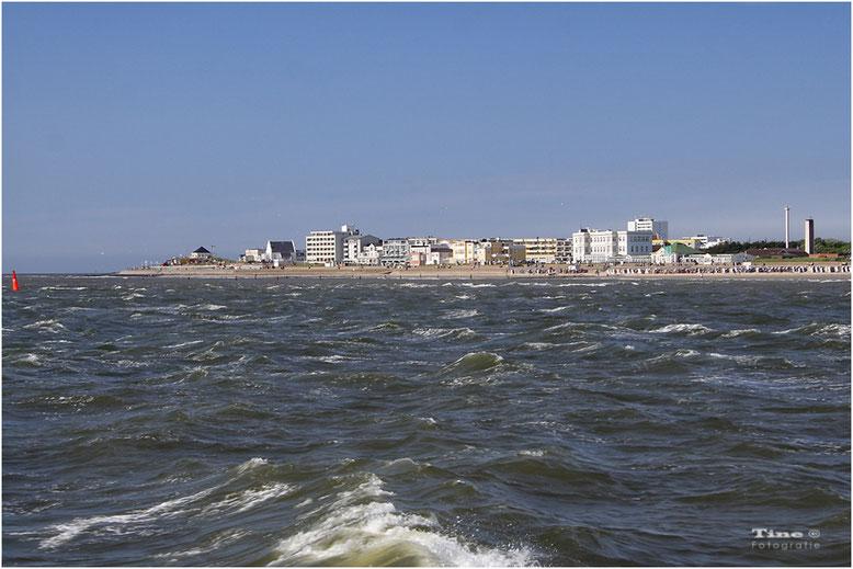 Blick auf Norderney
