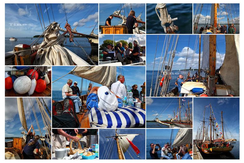 Ansichtskarte Haikutter-Regatta (privat)