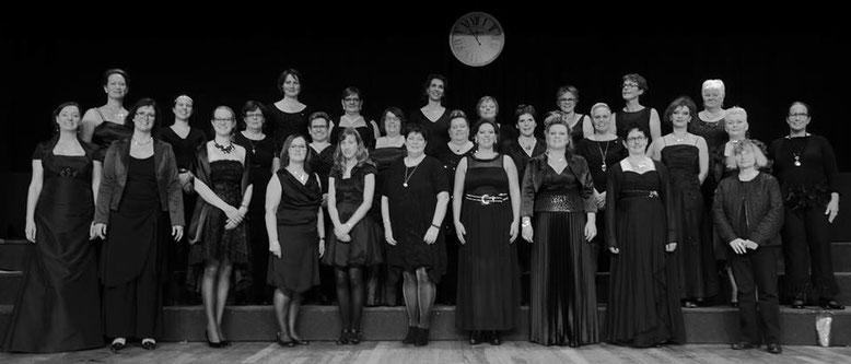Femmes Vocales tijdens Oudjaarsconcert 2009