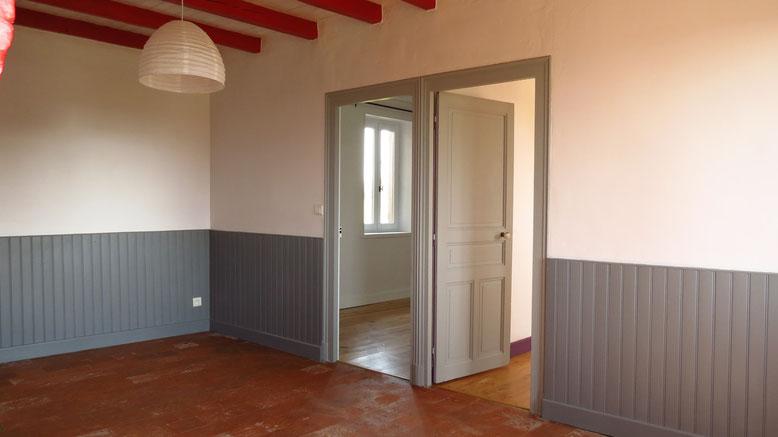 Rénovation et aménagement d'une maison de campagne