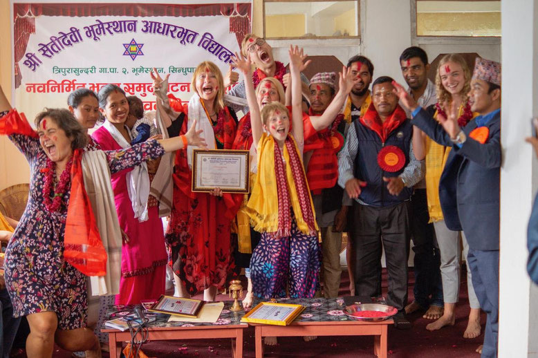 Schule Bhumethan eröffnet