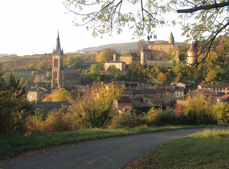 Jarnioux - Le village