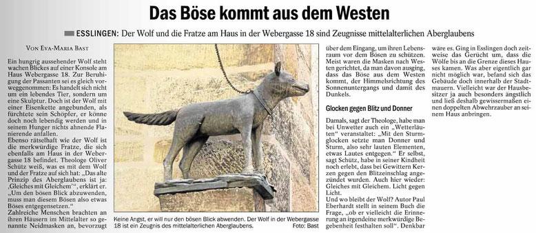 Quelle: Esslinger Zeitung vom 7. Januar 2015
