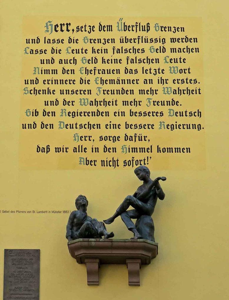 © Traudi  -  Gesehen an einer Hausfassade in Bernkastel-Kues