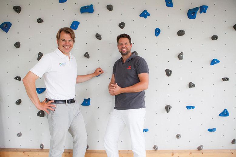 Dr. Jan Schilling und Johannes Fetzer sind die Faszienexperten in Hamburg