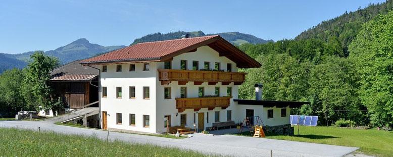 Ferienwohnungen im Bauernhof Kleinwolfing am Buchberg/Ebbs