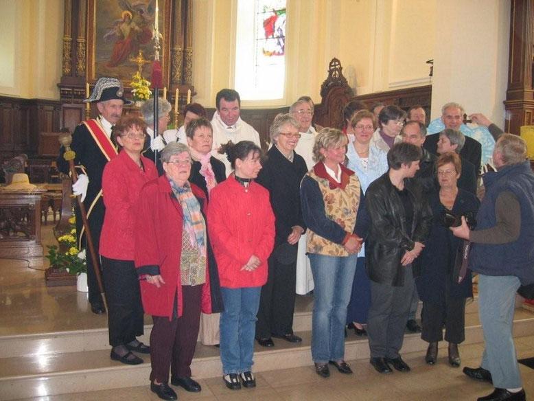 1er conseil pastoral de la CP Notre Dame des portes du Sundgau