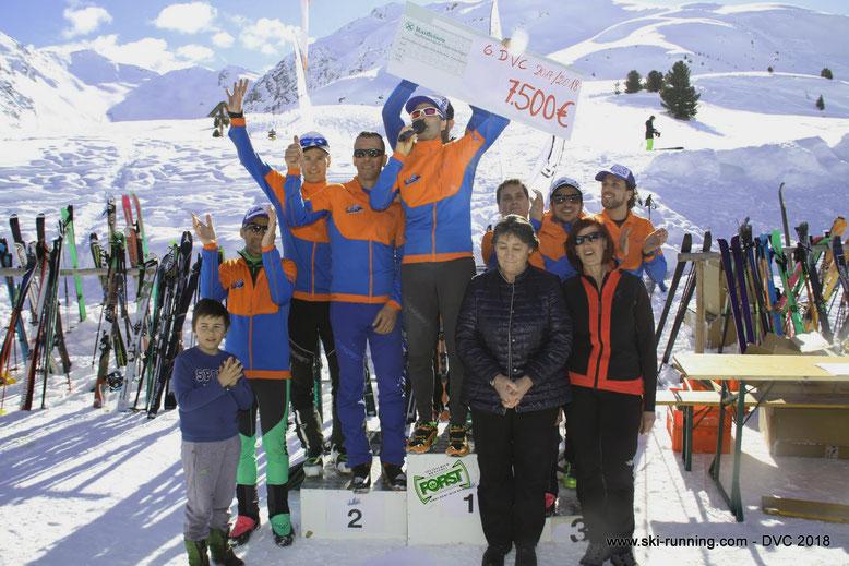 7500 Euro konnten wir an die Südtiroler Krebshilfe spenden, DANK aller Teilnehmer