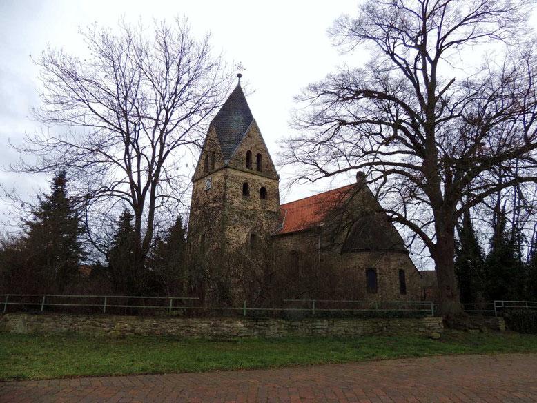 Die Kirche in Bösdorf