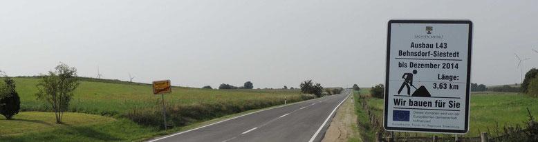 Dies ist der Blick in Richtung Siestedt von Behnsdorf aus.