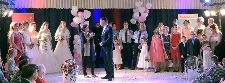 Die erste Hochzeitsmesse in Flechtingen, kann als voller Erfolg verbucht werden.