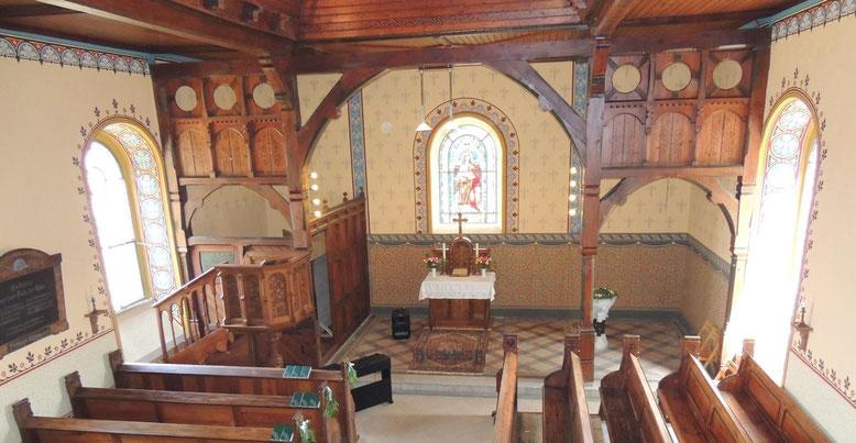 ...Ist sie nicht wundervoll geworden.....die Kirche in Ribbensdorf
