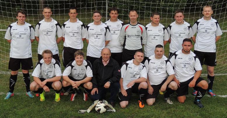 Die Fußballmannschaft vom Autohaus Heinicke aus Weferlingen