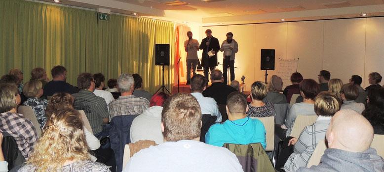 Um die achtzig Freunde der Poeten fanden den Weg nach Flechtingen