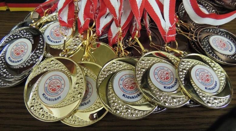 Medallienregen im Alpenländle