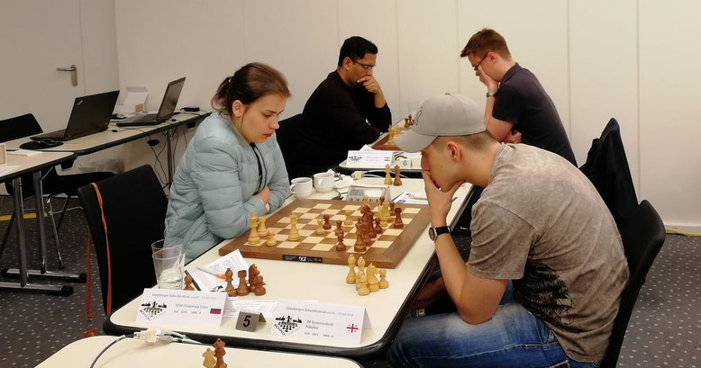 Lüneburger Schachfestival 2018, Utiatskaja-Kasiashvili