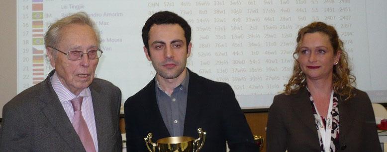 Sieger des Graz Casino Opens 2014, Hrant Melkumyan