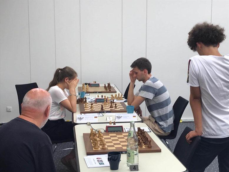 Lüneburger Schachfestival 2019: Lubbe-Feuerstack