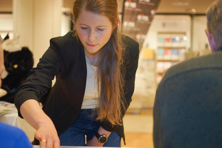 eins-Shoppingnacht 2020, Melanie Lubbe, Schach